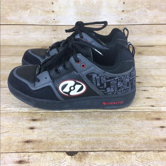 a09e42809f81 Heelys Other - Heelys Havoc Mens Black Leather   Suede Skate Shoe
